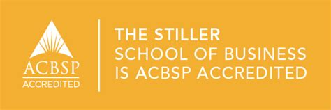 Our Of The Lake Mba Accreditation by Acbsp Accreditation Robert P Stiller School Of Business