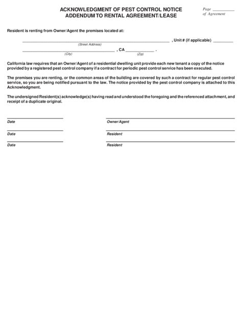 Acknowledgement Letter For Lease Lease Contract Template Best Resumes