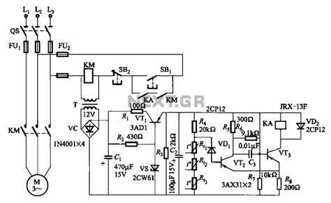 induction motor nedir gt automations gt motor circuits gt three phase asynchronous motor ptc protection circuits