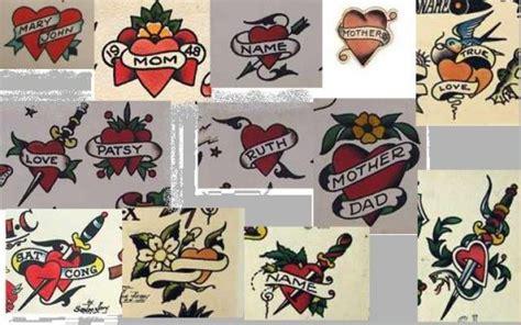 1940s tattoo designs classic school tattoos hubpages