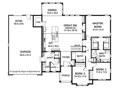 rambler open floor plans 1000 ideas about rambler house plans on pinterest