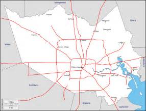 harris county free map free blank map free outline map