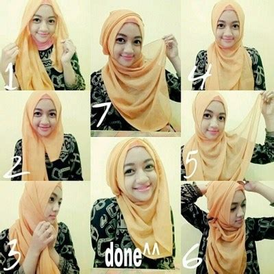 tutorial hijab paris kombinasi 2 warna 21 tutorial hijab paris segi empat simple untuk kuliah