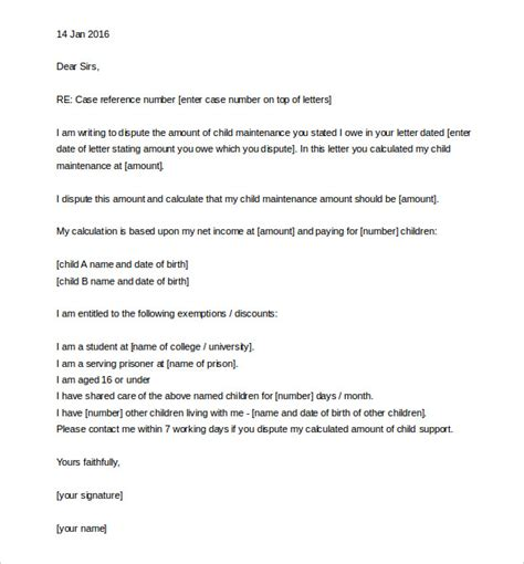 letter of support template 11 appeal letter templates free sle exle format