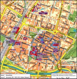 map of freiburg freiburg germany map