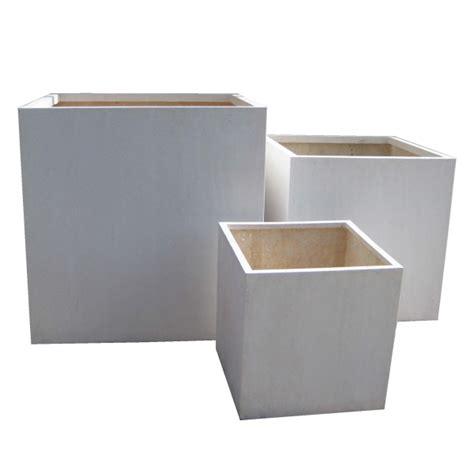 Light Weight Planters by Cube Planters Lightweight Terrazzo Pots And Planters