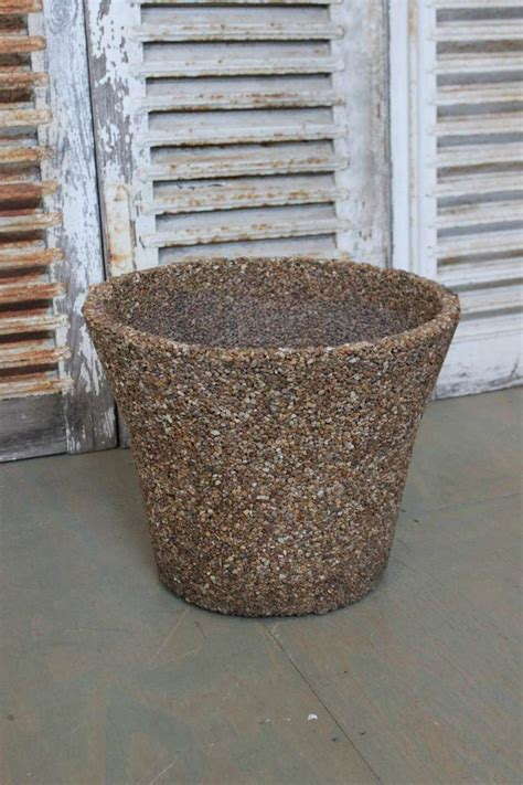 american 1960s pebble planter for sale at 1stdibs