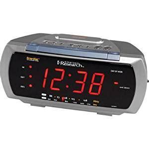 emerson cks3088t smartset dual alarm clock radio with 4 way l