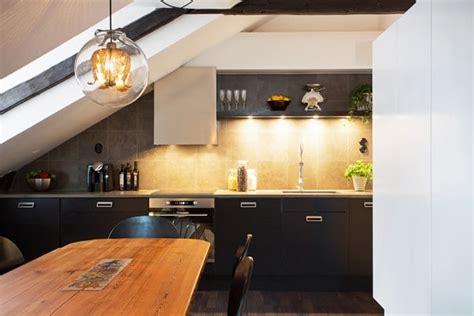 cuisine mansard馥 su 232 de un appartement mansard 233 design 224 stockholm