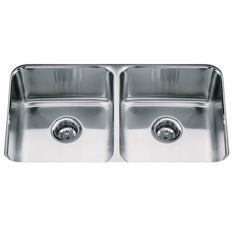 kohler icerock stainless steel bowl kitchen sink