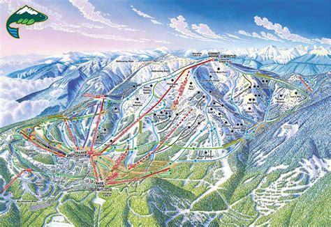 usa ski resort map whitefish skiing holidays ski whitefish usa