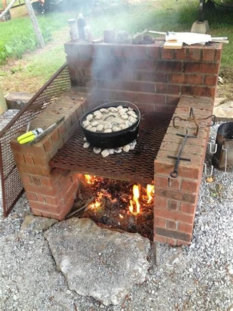 how to build a backyard bbq best 25 brick grill ideas on brick oven
