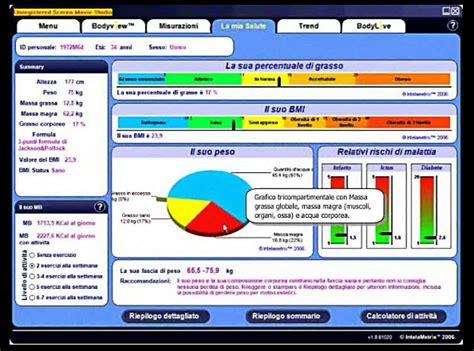 software alimentazione anamnesi valutazione funzionale produzione e spiegazione