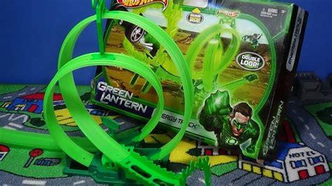 Hotwheels 164 Green Lantern wheels green lantern energy track set loops