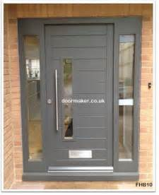 Black Front Doors With Sidelights » Ideas Home Design