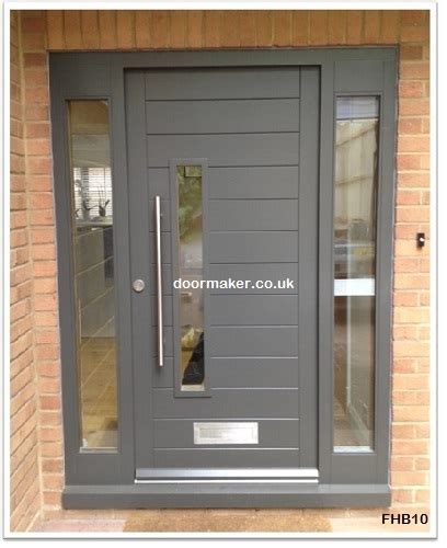 modern front doors contemporary front doors oak iroko and other woods