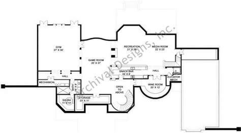 daylight basement floor plans tullamaine house plan daylight basement floor plan blueprints homes