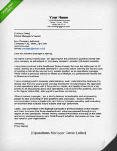Do You Any Other Professional Experience Office Management Operations Manager Cover Letter Sle Resume Genius