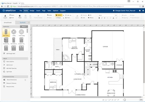 smart draw floor plans logos images smartdraw software