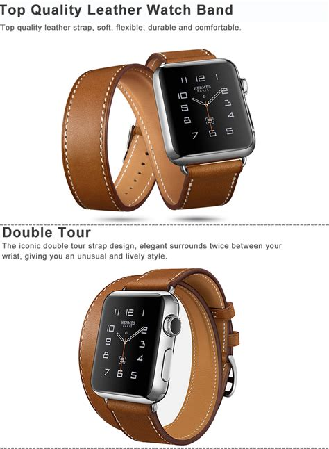 New Apple Sport Band 38mm 42mm Hight Quality Series 1 2 5 genuine leather tour band bracelet for