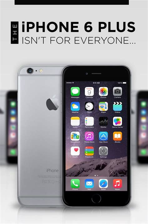 we the iphone 6 plus may be big for some luckily you sell it to us for