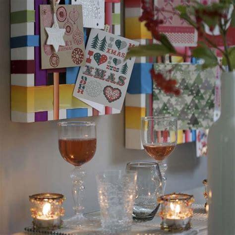 woven ribbon greetings card display high impact low