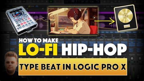 how to make hip hop how to make a sled lofi hip hop beat in logic pro x