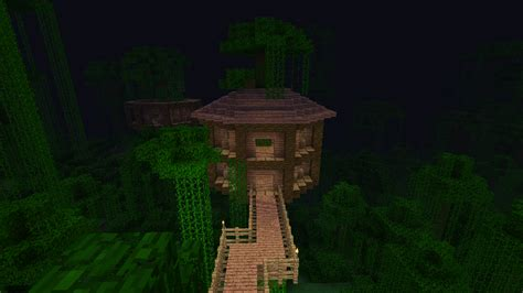 Minecraft Jungle Treehouse Blueprintsjungle Treehouse Complex Map Download