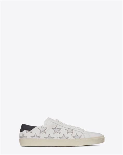 laurent signature california sneaker in white