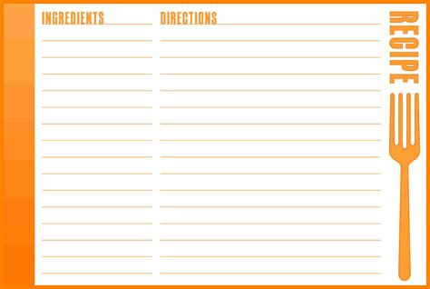 cr80 card word template recipe templates for word bamboodownunder