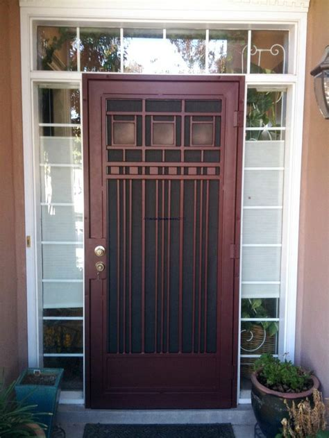 Security Front Door Gates 40 Best Images About Front Door Gate On Samsung Metal Gates And Doors