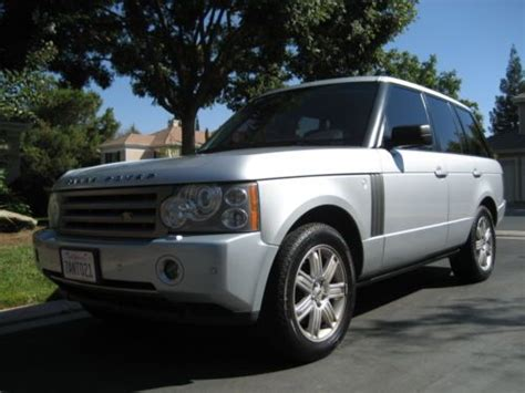 how to sell used cars 2006 land rover discovery seat position control find used 2006 range rover hse low miles warranty through october 2015 in fresno california