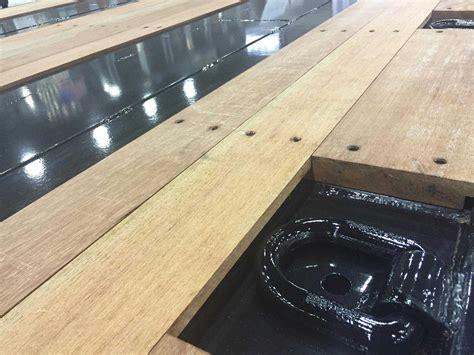 wood deck installation trailer decking apitong shiplap truck decks keruing