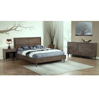 vilas bedroom furniture vilas light charcoal queen mid century style bed by i love