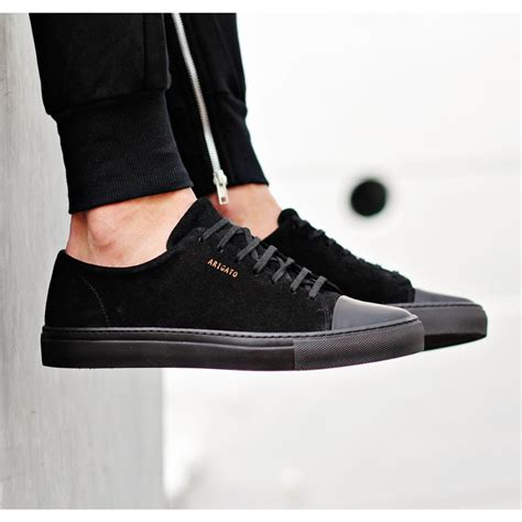 all black sneaker exchange your customary running sneakers for black