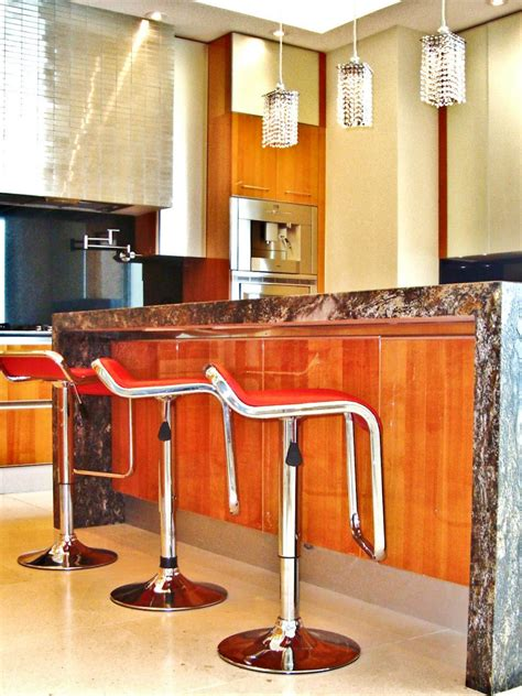 modern kitchen island stools photos hgtv