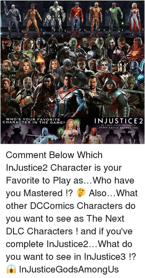what characters do you have to be to get the mystery characters on crossy road who s your favorite character in the game injustice 2 boc