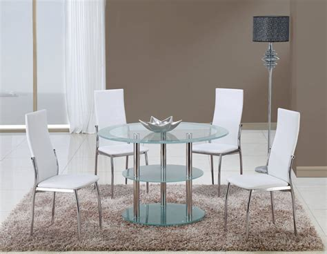 contemporary white dining room sets contrasting black or white contemporary dining room set