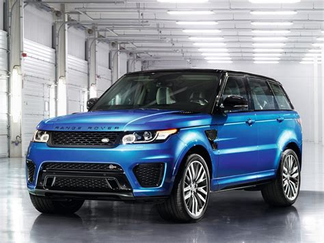 range rover blue and white official range rover sport svr