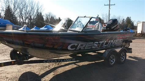used crestliner boats for sale in ontario crestliner raptor 2050 2014 used boat for sale in grand