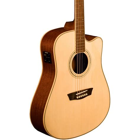 washburn comfort series washburn comfort series wcd18ce acoustic electric guitar