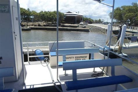 used pontoon boats for sale queensland pontoon boat in survey power boats boats online for