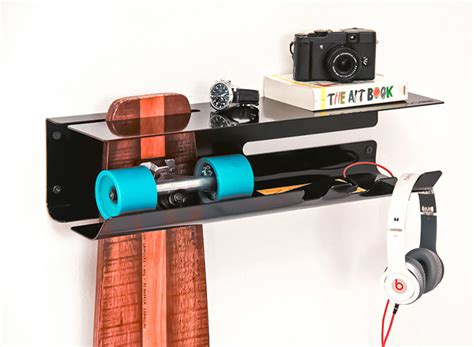 Skateboard Wall Rack by A Wall Mounted Rack To Proudly Display Your Skateboard