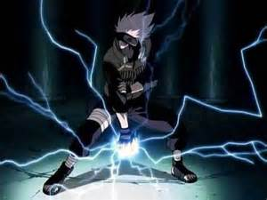 Lightning Chidori Card Tips Benandgwen2009 Images Kakashi Using The Lightning Blade
