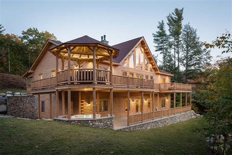 log cabin houses rediker log home kit large log cabin homes