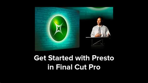 Final Cut Pro Getting Started | red giant getting started with presto in final cut pro