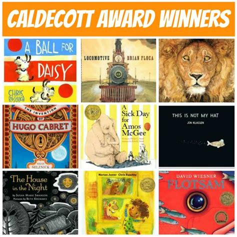 caldecott picture books caldecott medal winning works