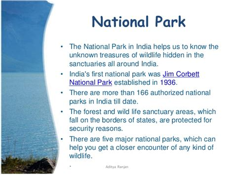 national biography definition wildlife sanctuaries and national park in india