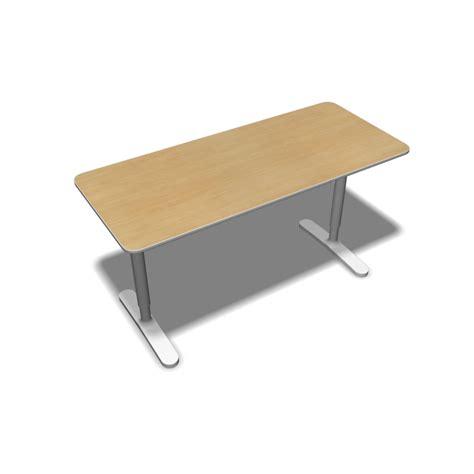 schreibtisch weiß 140 x 60 bekant table top 140 x 60 underframe birch veneer