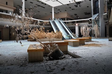 seph lawless s black friday series trendland seph lawless photographs abandoned malls in his book
